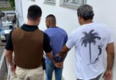 Suspeito de balear três pessoas no Carnaval é preso em Salvador | Foto: Divulgação | SSP