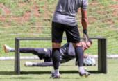 Vitória se reapresenta e treina com portões fechados | Foto: Letícia Martins | EC Vitória