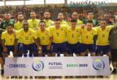 Futsal: classificado para Copa do Mundo, Brasil goleia na eliminatória | Foto: CBFS | Divulgação