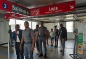Deficientes visuais participam de aula de acessibilidade no metrô de Salvador | Foto: Divulgação
