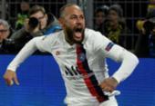 Neymar marca, mas Haaland brilha e Borussia vence PSG na Champions | Foto: Sascha Schürmann | AFP