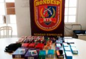 Eletrônicos roubados em loja de departamento são recuperados em Salvador | Foto: Divulgação | SSP-BA