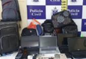 Dupla suspeita de roubar veículos é presa em Feira de Santana | Foto: Reprodução | Acorda Cidade