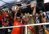 Rei Momo recebe a chave do prefeito e dá início à folia | Felipe Iruatã | Ag. A TARDE