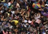 Carla Perez e Xanddy arrastam multidão no Campo Grande | a tarde