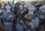 Afoxé Filhos de Gandhy perfuma circuito Barra-Ondina | Jaqueline Suzarte | Ag. A TARDE