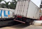 Brumado: motorista fica ferido após colisão com trem | Reprodução | 97 News