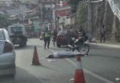 Acidente fatal congestiona trânsito no Dique | Thaís Seixas | Ag. A TARDE