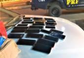 Celulares furtados em festas são recuperados na Bahia   Divulgação   PRF