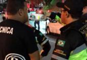 Motorista de trio é flagrado dirigindo alcoolizado | Divulgação | Transalvador