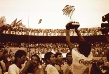 Segundo título do Bahia completa 31 anos; confira fotos históricas | Cedoc | Arquivo A TARDE