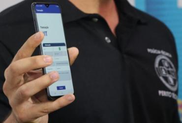 Polícia identifica foragidos por meio do smartphone | Divulgação
