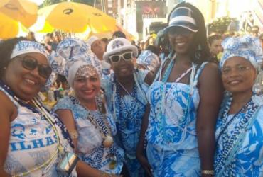 Filhas de Gandhy levam empoderamento feminino para avenida | Jaqueline Suzarte | Ag. A TARDE