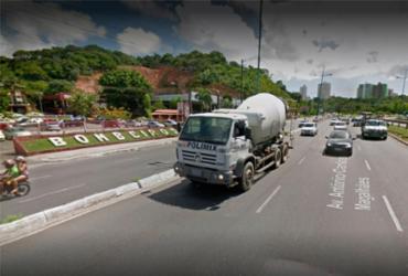 Colisão entre carros deixa trânsito lento na Bonocô e Acesso Norte | Reprodução | Google Maps