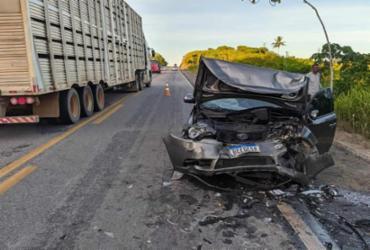 Acidente deixa seis feridos na BR-101 | Reprodução | Teixeira Hoje