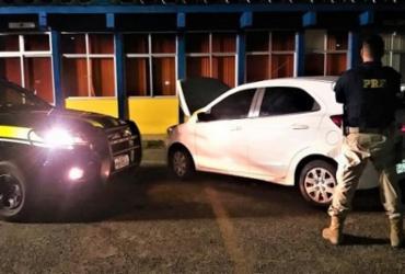 Adolescente é flagrado com carro roubado na BR-324 | Divulgação | PRF