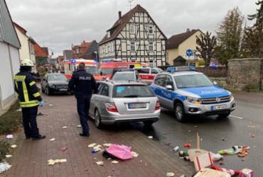 Veículo atropela e deixa vários feridos em Carnaval na Alemanha | Elmar Schulten | AFP
