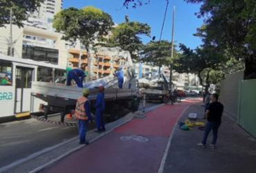 Obras de revitalização deixam trânsito intenso em Ondina | Divulgação | Transalvador