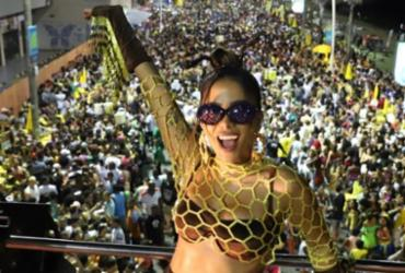 Anitta anuncia ensaio de carnaval em camarote de Salvador | Ag. A TARDE