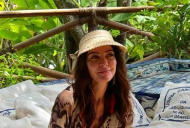 Flagramos Ana Paula Padrão curtindo o verão baiano |
