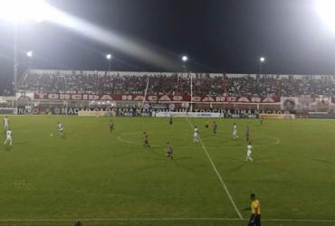 Atlético fica no zero em Alagoinhas e é eliminado  