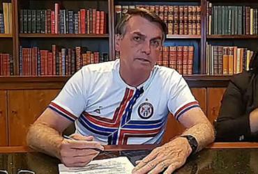 Em live, Bolsonaro pede serenidade e afirma que respeita os Poderes | Divulgação | Palácio do Planalto