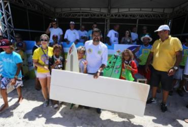 Campeonato de surf baiano é atração em Ilhéus