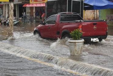 Fortes chuvas provocam alagamentos em Ibotirama | Reprodução | Gazeta 5