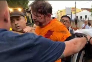 Senador Cid Gomes é baleado durante protesto de policiais no CE | Reprodução