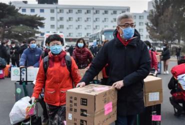Wuhan, onde o coronavírus surgiu, alivia medidas de isolamento | Peng Ziyang | Xinhua