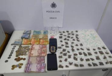 Suspeito de vender drogas no Carnaval morre em ação policial na Barra | Divulgação | SSP