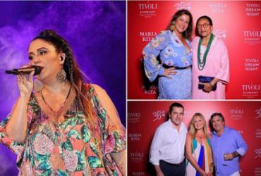 Tivoli Ecoresort Praia do Forte recebeu show de Maria Rita |