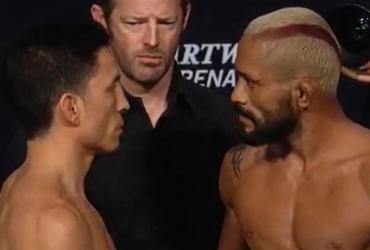 Brasileiro não bate peso e perde chance de cinturão | Reprodução | UFC