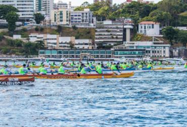 Atletas da canoagem se superam em desafio de Salvador a Morro |