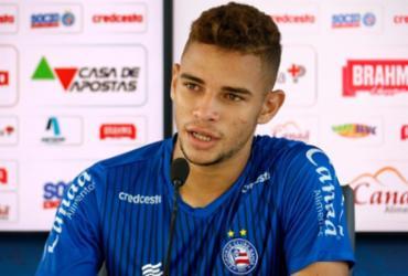 Volante do Bahia promete tentar 'vingar' derrota do último Ba-Vi | Felipe Oliveira | EC Bahia