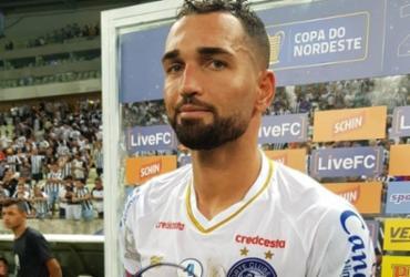 Artilheiro do Bahia no ano, Gilberto lamenta empate contra o Ceará | Divulgação | EC Bahia
