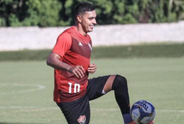 Com retorno de Alisson Faria, Vitória conclui preparação para pegar o CRB | Letícia Martins | EC Vitória