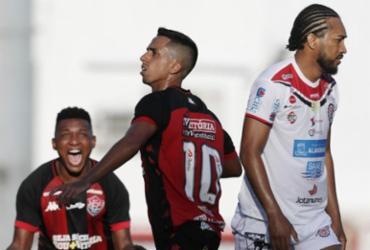 Vitória vence e iguala pontuação do Bahia antes do clássico | Raul Spinassé | Ag. A TARDE