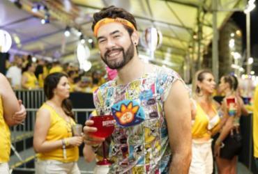 Matheus Rocha curtiu domingo entre Camarote do Nana e Camaleão |