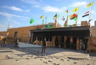 Três foguetes caem perto da embaixada dos EUA no Iraque | Ahmad Al-Rubaye | AFP