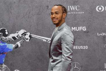 Hamilton e Messi dividem prêmio Laureus; Simone Biles leva entre as mulheres | Tobias Schwarz | AFP