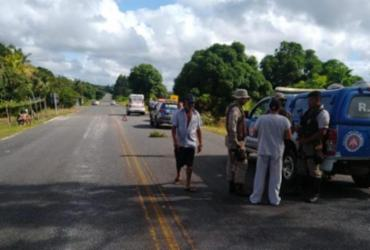 Homem é morto dentro de ambulância na BA-018 | Reprodução | Blog Fábio Roberto Notícias