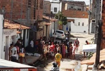 Jovem morre baleado na cidade de Feira de Santana | Reprodução | Acorda Cidade