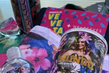 Ivete Sangalo presenteia amigos e personalidades com kit de Carnaval personalizado |