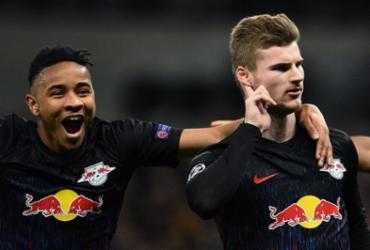 Leipzig vence Tottenham em jogo de ida das oitavas da Champions | Glyn Kirk | AFP