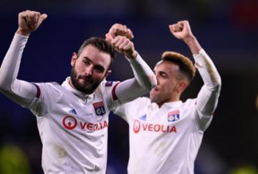 Lyon vence Juventus nas oitavas da Champions | Franck Fife | AFP