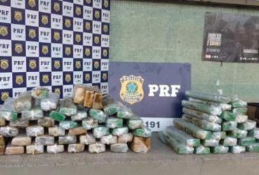 Homens são presos com 70 Kg de maconha em ônibus interestadual na Bahia | Divulgação | PRF