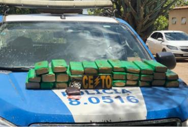 Dupla é presa com sessenta quilos de maconha em Euclides da Cunha | Divulgação | SSP