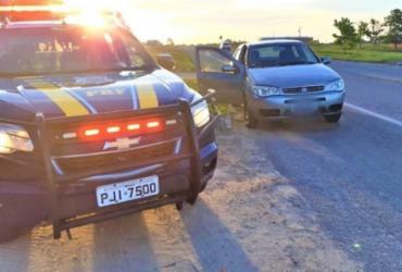 Motorista com dois mandados de prisão por estelionato é preso em Eunápolis | Divulgação | PRF