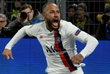 Neymar marca, mas Haaland brilha e Borussia vence PSG na Champions | Sascha Schürmann | AFP